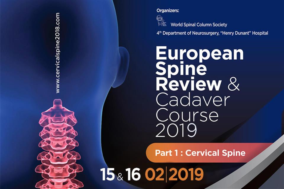 European Spine Review & Cadaver Cource 2019