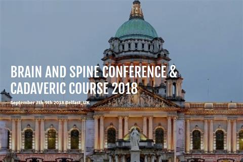 Brain and Spine Belfast 2018 September 7th-9th 2018 Belfast, UK