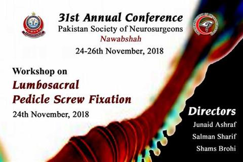 31st Annual Conference Pakistan Society of Neurosurgeons