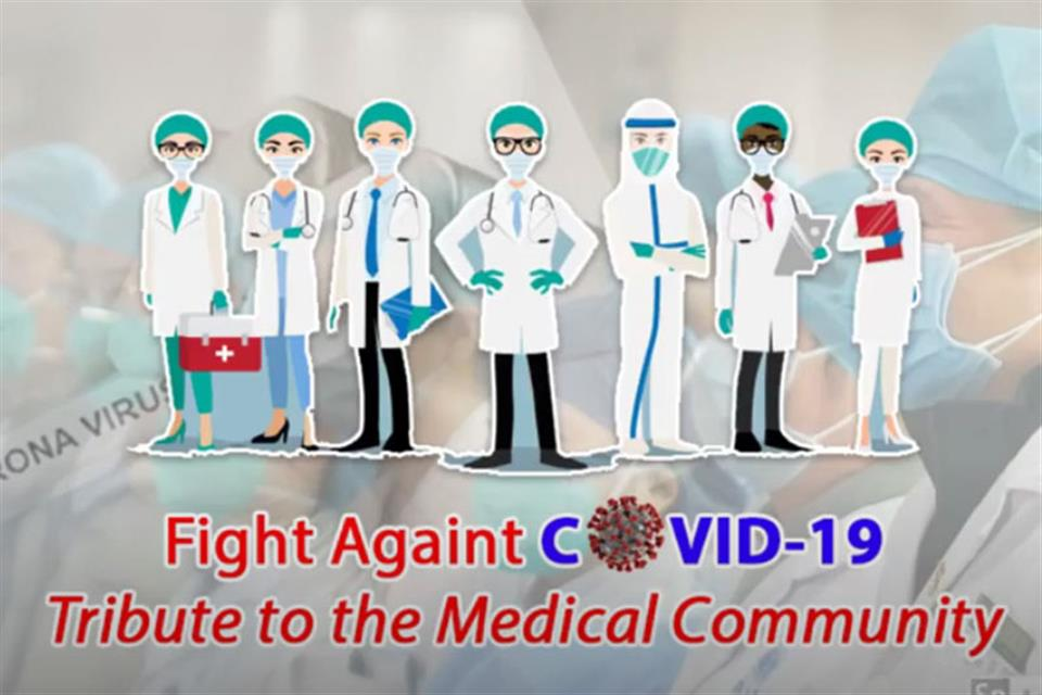 Fight Against Corona - A Tribute to the Medical Community