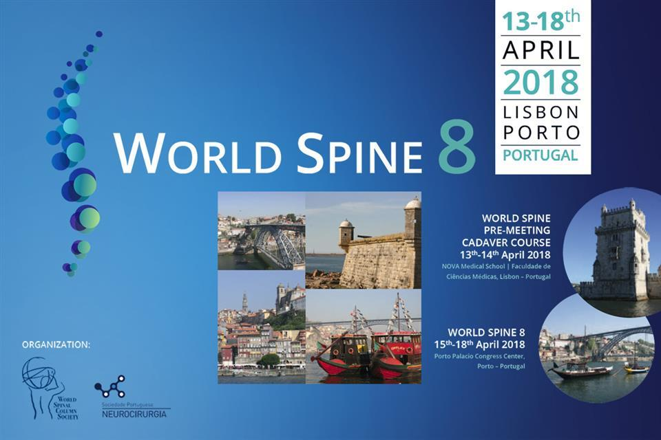 World Spine 8, Portugal, 13 - 18th April 2018